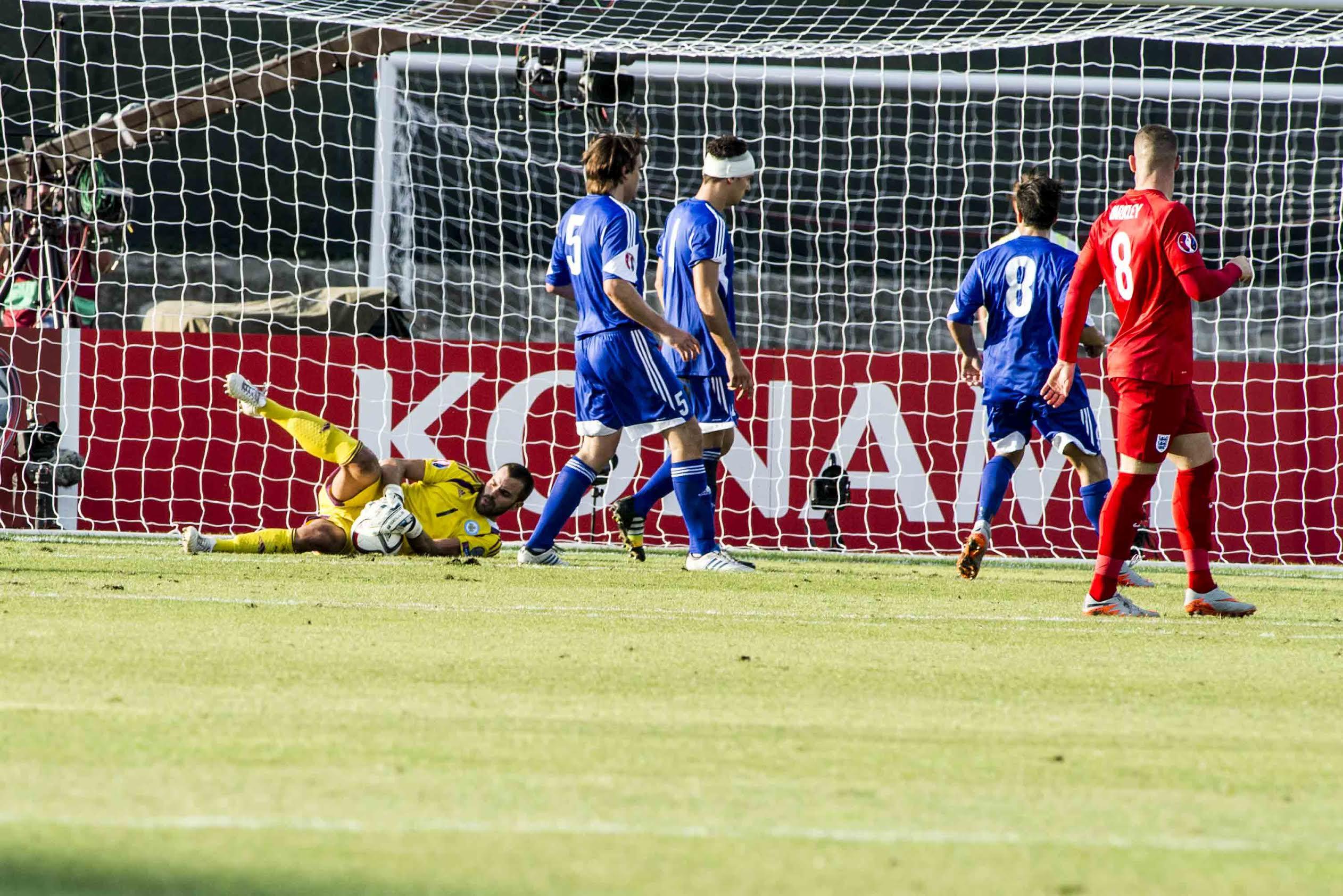 Calcio San Marino Vs InghliterraPh©FPF/Filippo Pruccoli