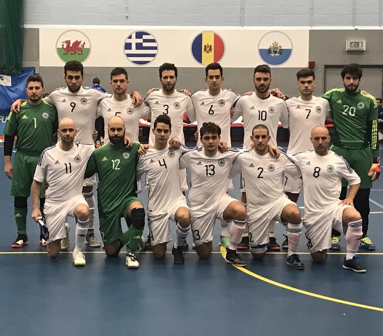 Futsal san marino grecia MD1
